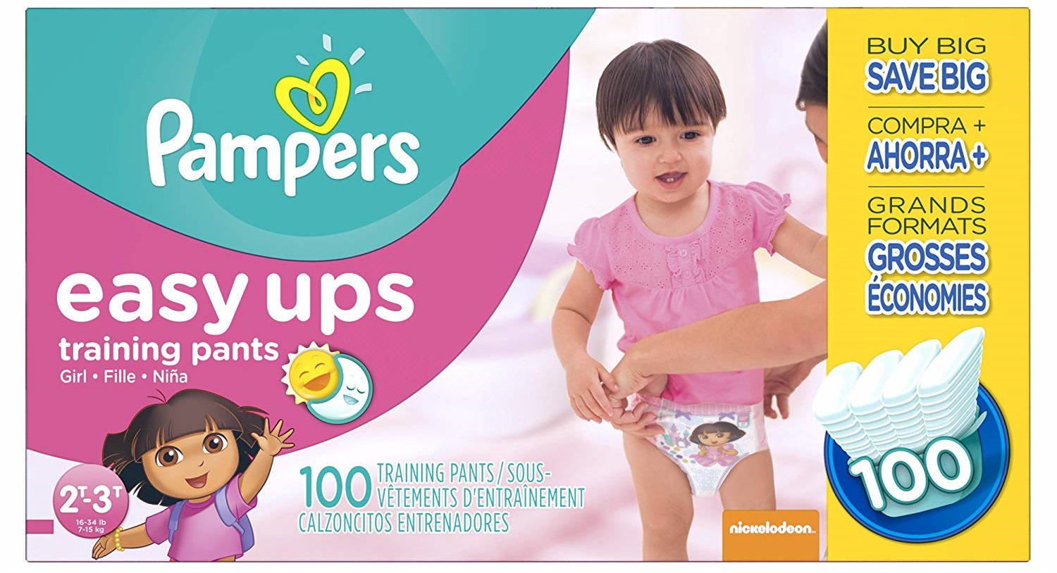 A Complete Review of Pampers Pam 2766 Easy Ups Training Pants, 2T3T (Size 4), (Pack of 100) Diapers for Girls