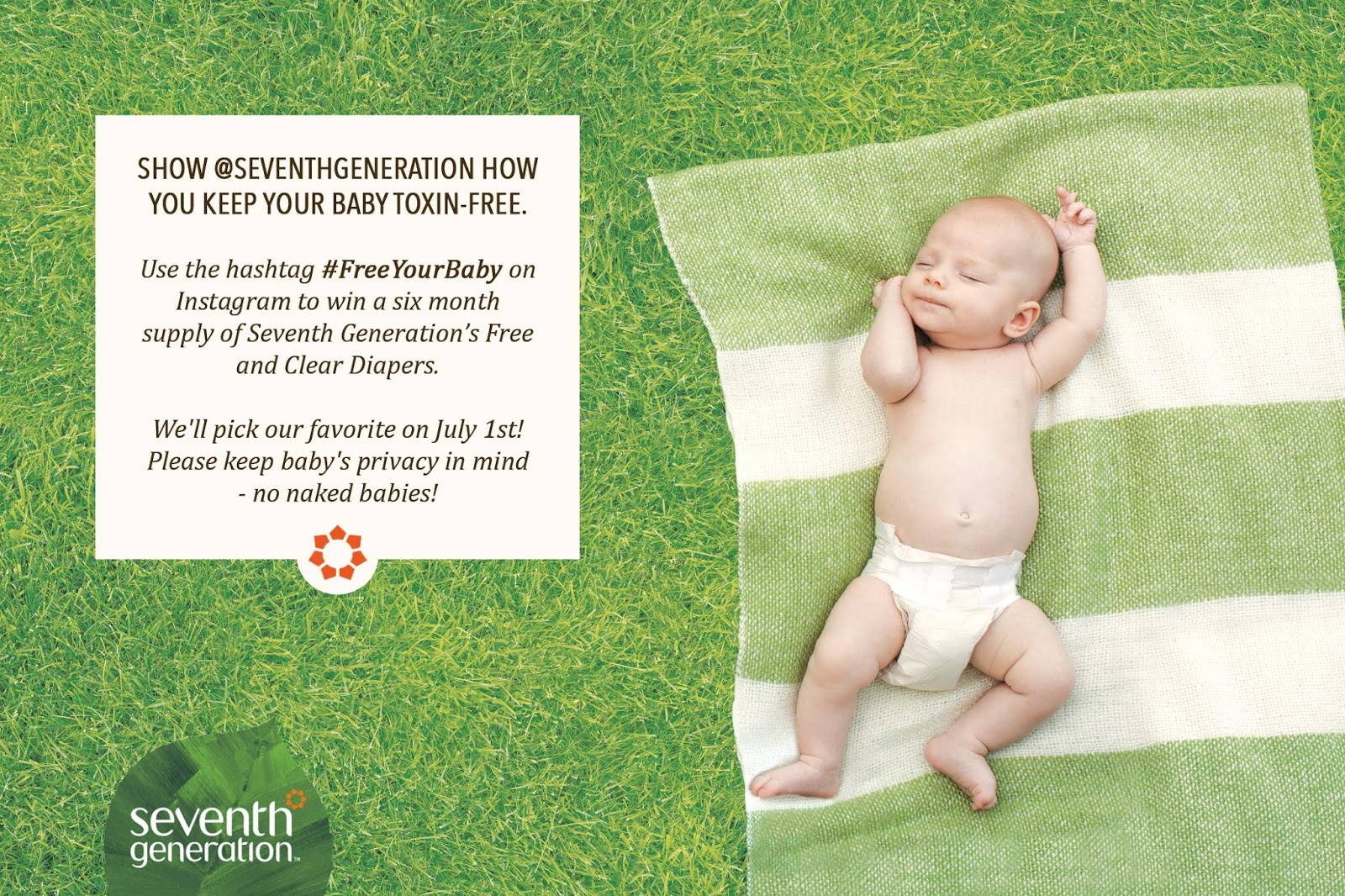 A Review of Seventh Generation Baby Diapers, Original Unprinted, Size2