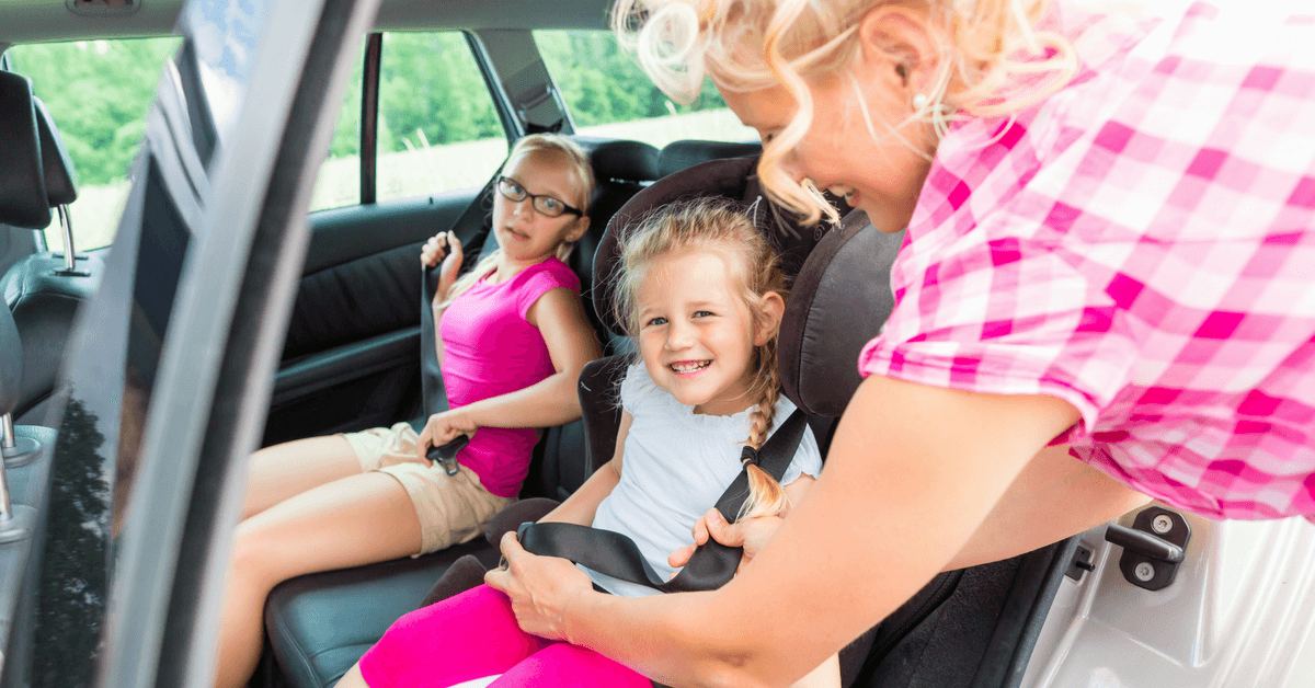 The Booster Seat: Safety on and Off The Road